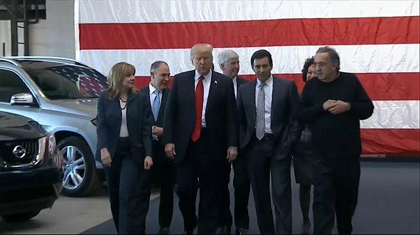 Trump veut taxer l'importation de véhicules
