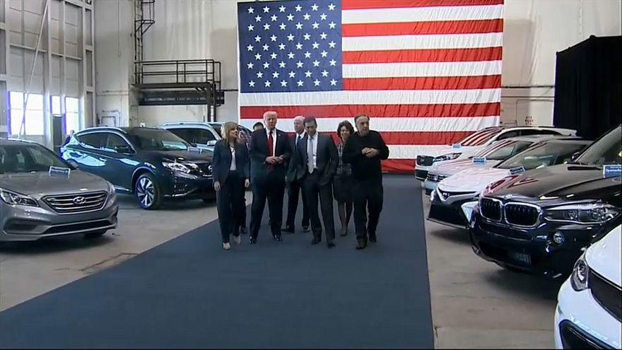 Neue US-Importzölle? Trump zielt auf VW, Daimler, BMW und Co.