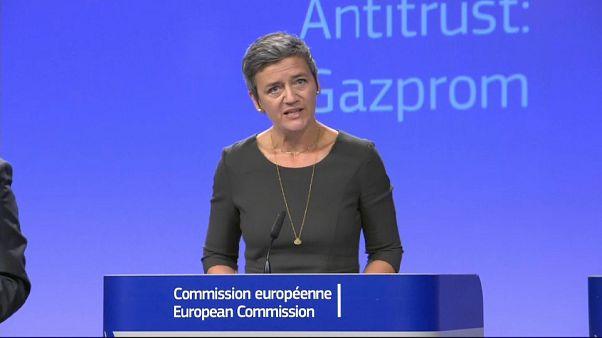 Los reguladores antimonopolio de la UE no multarán a Gazprom