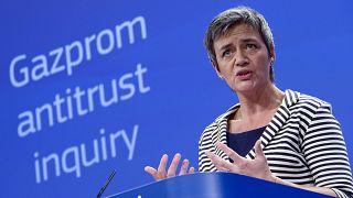 Pas d'amende européenne pour Gazprom