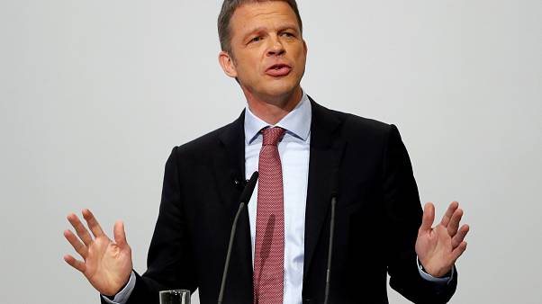 Christian Sewing, new CEO of Germany's Deutsche Bank