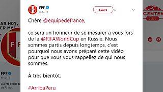 Coupe du monde 2018 : le Pérou se rappelle au bon souvenir de la France