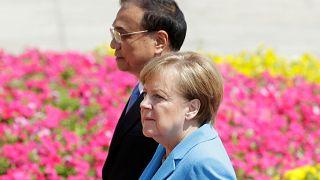 Angela Merkel und Li Keqiang in Peking