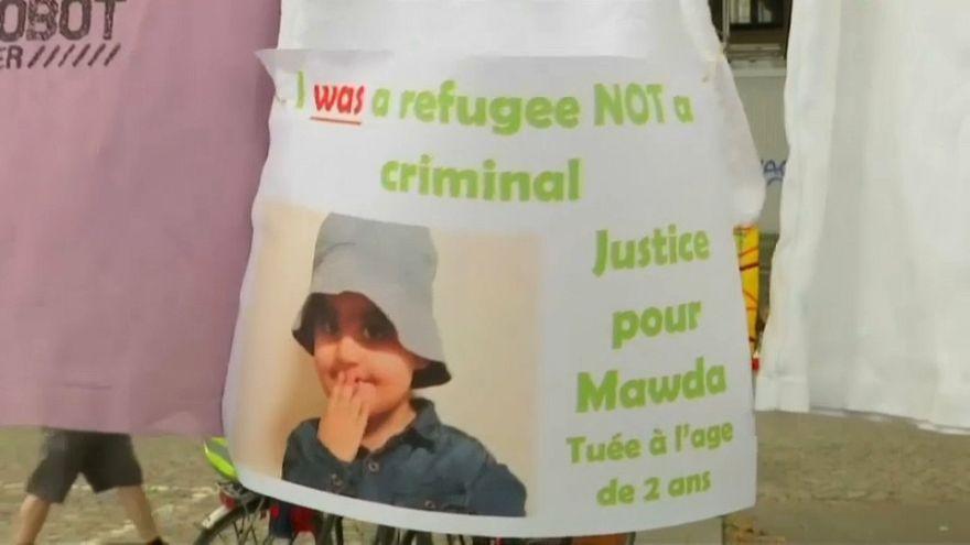 Auf der Autobahn erschossen: Solidarität mit Familie von Mawda (2†)