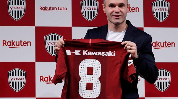 Iniesta entusiasmado com novo desafio no Vissel Kobe