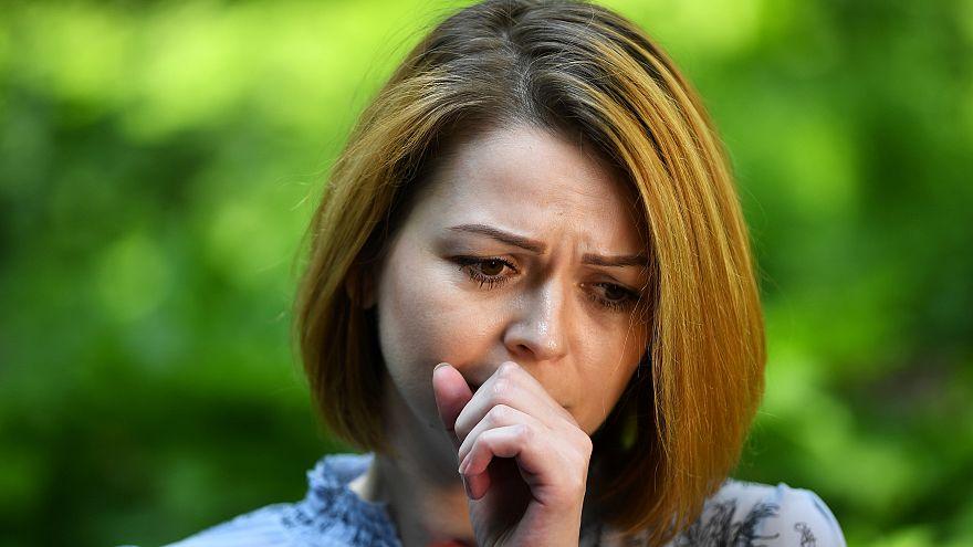 Yulia Skripal speaks to Reuters in London