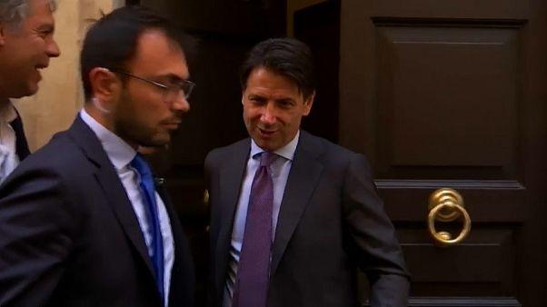 Conte, primo giorno da premier incaricato