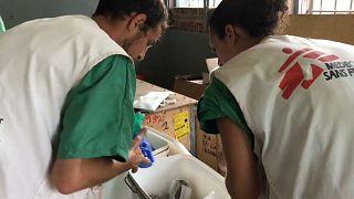 Ebola : MSF en première ligne