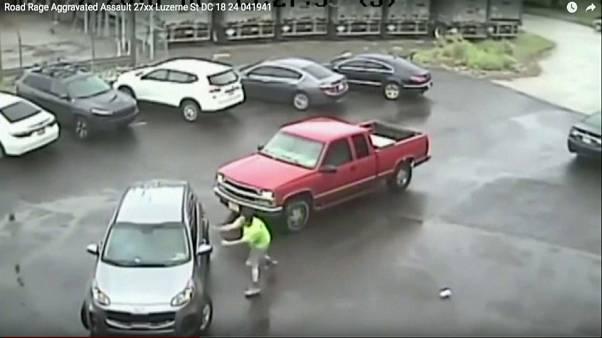Video road-rage fuelled sledgehammer attack in Philadelphia