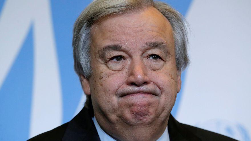 Guterres condena decisões de Trump