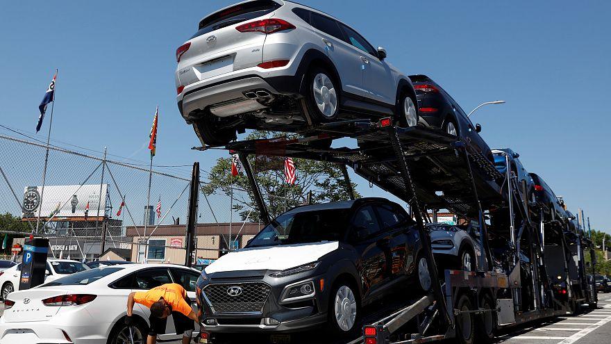 Impostos sobre automóveis aumentam tensão UE-EUA