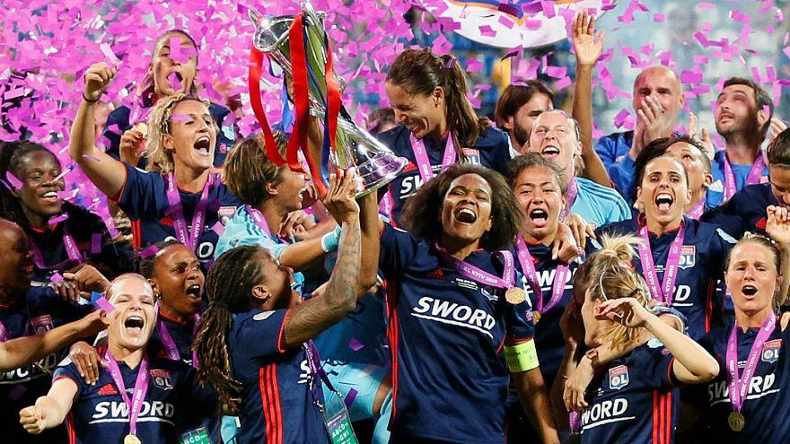 Football : l'Olympique lyonnais remporte sa troisième Ligue des champions féminine d'affilée