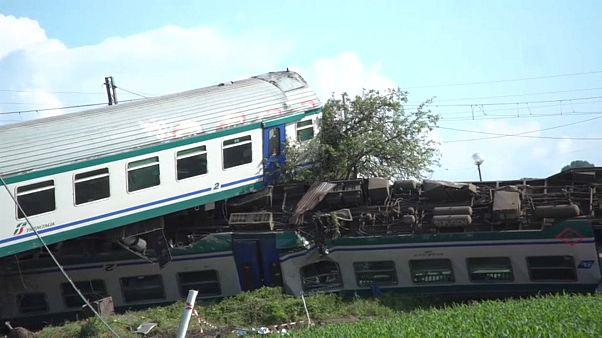 تصادف قطار در ایتالیا