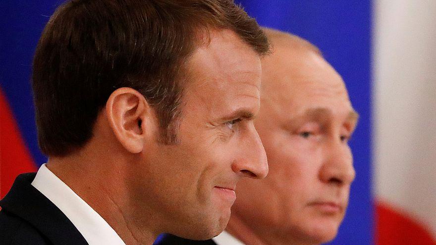 الملف النووي الإيراني وسوريا أوكرانيا في قلب محادثات ماكرون وبوتين