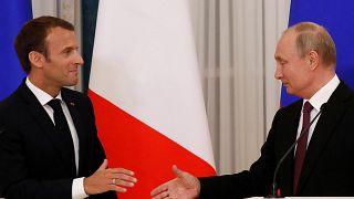 Macron e Putin condenam decisão de Trump