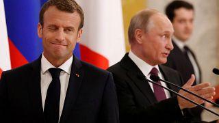 Macron-Poutine : un lent dégel