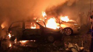 انفجار سيارة ملغومة في بنغازي شرق ليبيا