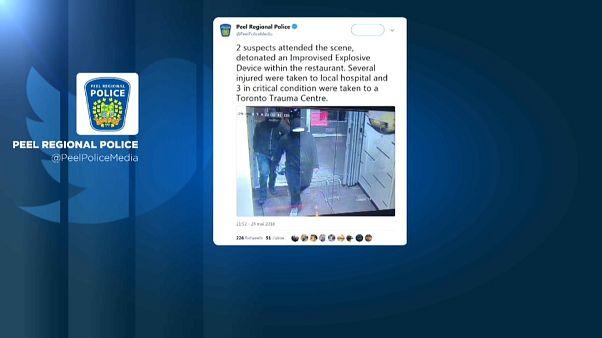 Un artefacto explosivo deja 15 heridos en un restaurante de Canadá