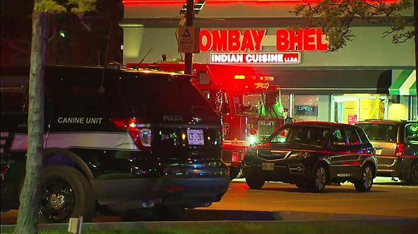 المطعم الذي وقع فيه التفجير