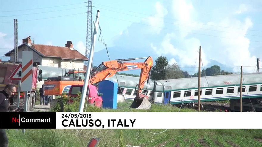 Déraillement meurtrier d'un train en Italie