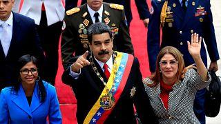 Maduro presta juramento para segundo mandato