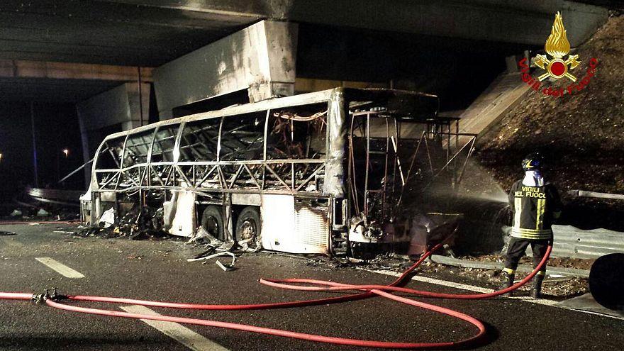 Vádemelés a veronai buszbaleset ügyében