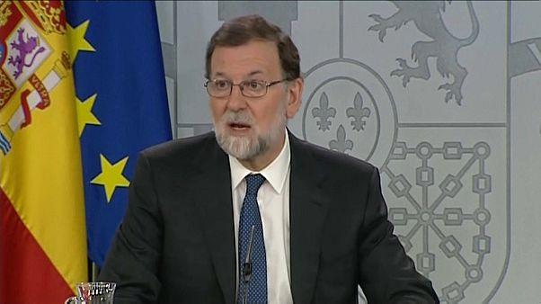Rajoy ataca la moción de censura anunciada por Pedro Sánchez: va a debilitar a España