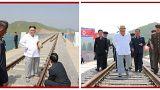 Un relajado Kim Jong un en medio de la crisis con Trump