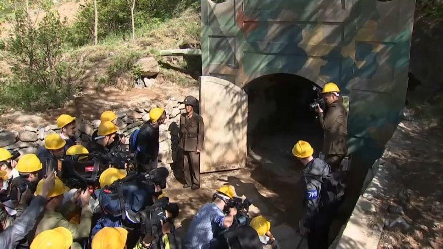 Kuzey Kore nükleer silahların geliştirildiği tesisleri resmen kapattı
