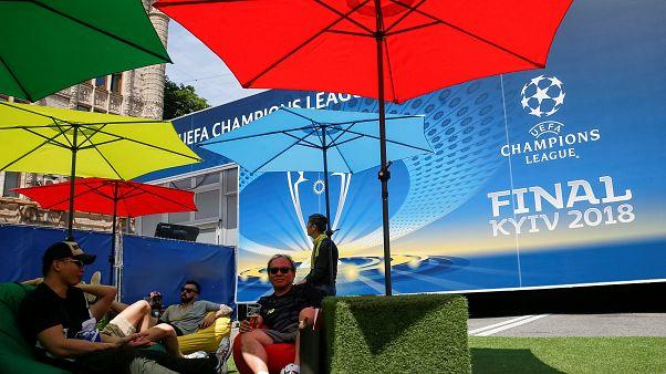 Киев готовится к финалу Лиги чемпионов