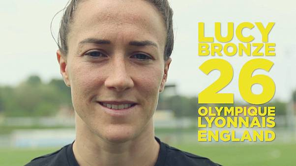 Watch: Lyon star Lucy Bronze talks passion — and pay gaps — in women's football