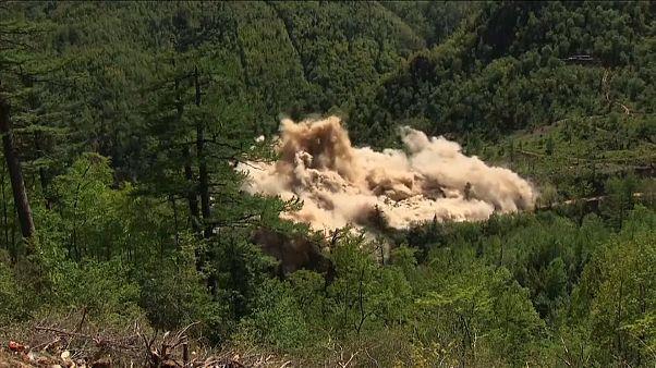 Ликвидация ядерного полигона в Пхунгери