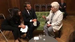 Orosz ellenzékiekkel találkozott Macron