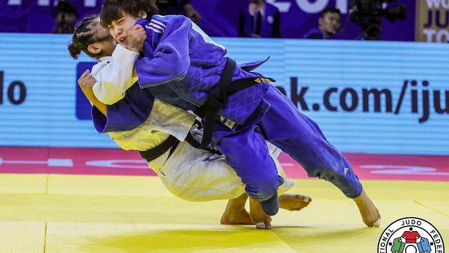 Grand prix Judo στην Κίνα: Έλαμψε η Γιαπωνέζα Άμπε