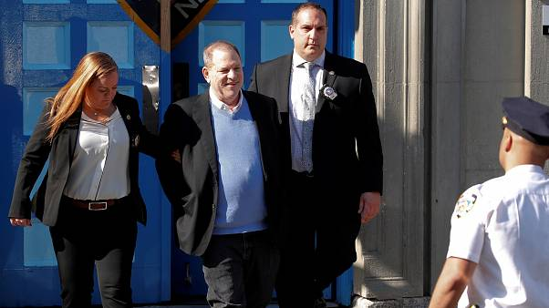 Weinstein released on bail over rape and abuse charges