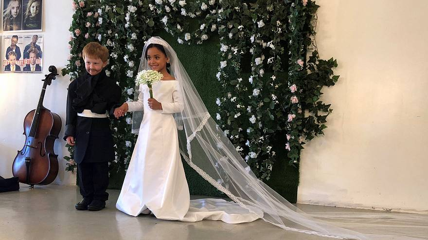 Американские дети сыграли свадьбу Гарри и Меган