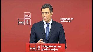 Sánchez presenta una moción de censura contra Rajoy para recuperar la dignidad de España