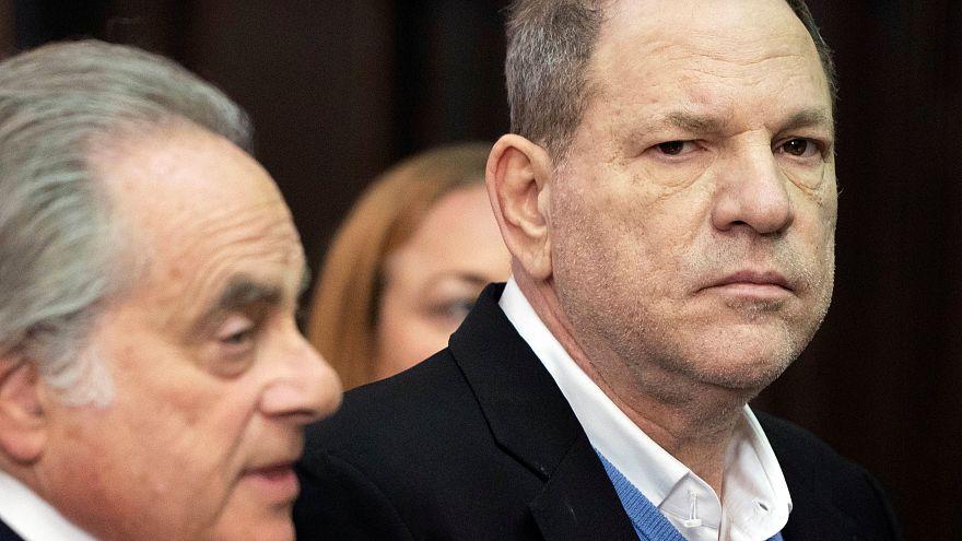 Produtor Harvey Weinstein ouvido em tribunal