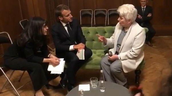 El gesto de Macron con las ONG rusas