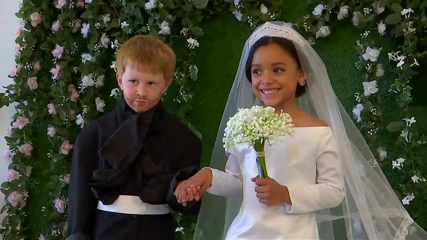 Kraliyet düğünün minik versiyonu