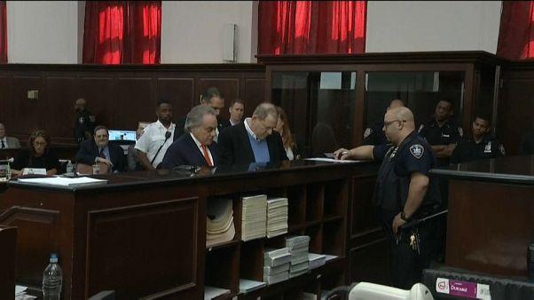 Harvey Weinstein 1 milyon Dolar kefaletle serbest bırakıldı