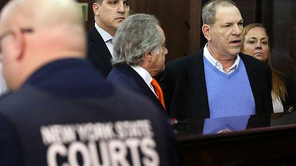 Angeklagt wegen Vergewaltigung: Weinstein auf Kaution frei