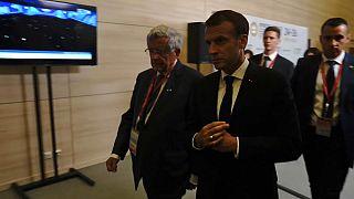 Macron at the St. Petersburg International Economic Forum