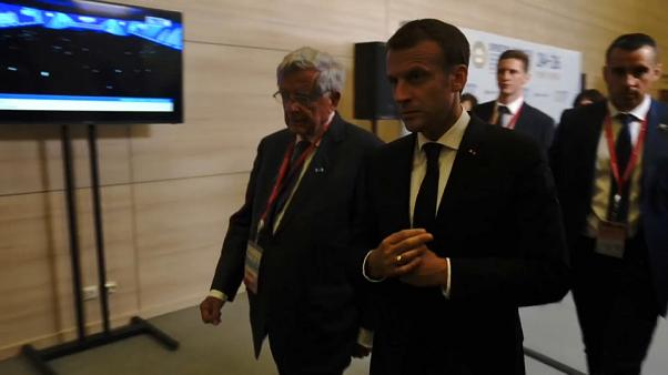 Macron at the St. Petersburg International Economic Forum
