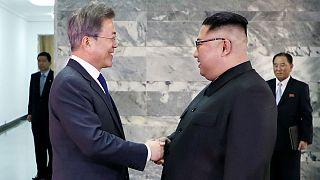 Kuzey ve Güney Kore liderleri yeniden bir araya geldi