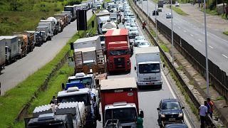Απεργία φορτηγατζήδων παραλύει τη Βραζιλία