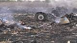 Remains of MH17 flight shot down by Russian missile over eastern Ukraine