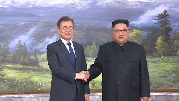 Überraschendes 2. Treffen zwischen Nordkoreas Kim Jong Un und Südkoreas Präsidenten