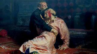 Repin-festményt rongáltak a Tretyakov Képtárban