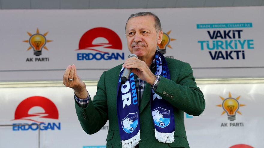 Erdoğan: Avrupa'da HDP'ye miting izni var AK Parti'ye yok